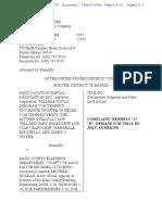 Complaint, Maui Vacation Rental Ass'n v. Maui County Planning Dep't., No. 20-cv-00307-JAO (D. Haw. July 10, 2020)