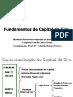 Cap 1 - Fundamentos da Gestao do Capital de Giro