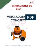 Manual Mezcladora.
