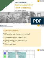 Class 6  7 Short-term scheduling