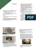 Procedimiento a seguir para la elaboración de CER de silicona