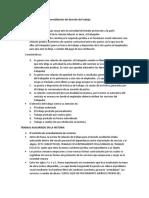 Surgimiento evolución y consolidación del derecho del trabajo (Lectura 1)