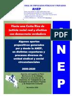 ANEP entregó documento-propuestas para el Foro Multisectorial de Diálogo Nacional de la Asamblea de Trabajadores y de Trabajadoras del Banco Popular