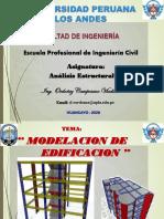 17° Semana Modelación de Edificación -Análisis Estructural II
