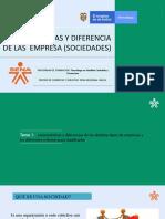 CARACTERISTICAS Y DIFERENCIAS DE LAS SOCIEDADES