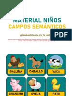 PRODUCTO 8. CAMPOS SEMÁNTICOS
