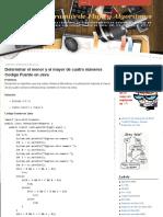 Determinar El Menor y El Mayor de Cuatro Números Codigo Fuente en Java _ Diagramas de Flujo y Algoritmos