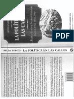 La política en las calles. Hilda Sabato.