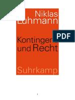 Luhmann-Kontingenz und Recht