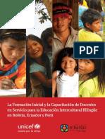 La formacion inicial y la capacitacion de docentes en servicio para la EIB.pdf