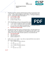 Tutorial 8 Suggested Solutions