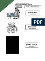 2018 LECCION N° 03 FENOMENOS NATURALES PACHAQ KAUSAYNINKUNA
