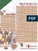 Mandrágora listado productos