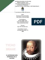 Tycho Brahe - Conocimiento Cient.