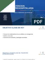 EMU - Clase Nº9 Bolso e implementos de ambulancia sueros