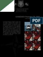 SUNSEEKER Predator 75 , 2001, 565.000€ For Sale. Yacht Brochure. Presented By longitude64.im