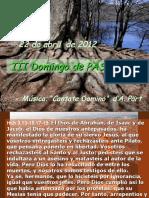 Lecturas Domingo III de Pascua.pps