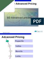 Advanced pricing
