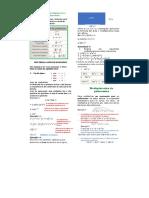 Multiplicación y división de monomios y polínomios