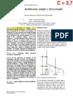 Practica No 2 Destilación simple y fraccionada Daniel Castro Correa y Nicolas Mejía Penilla(1).pdf