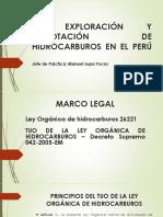 LA EXPLORACIÓN Y EXPLOTACIÓN DE HIDROCARBUROS