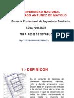 REDES DE DSITRIBUCION