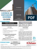 SEPARATA CURSO TALLER LICENCIA DE EDIFICACION VIVIENDA
