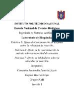 Práctica 5, 6 y 7 - Bioquímica 4AM1.pdf
