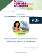 Propostas Telma Cavalcanti 45665 - Eleições Saquarema 2020