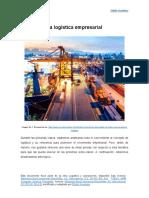 La logística empresarial