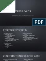 ETABS load combinations