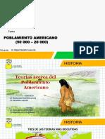poblamiento americano (Prof. Miguel Quijaite)