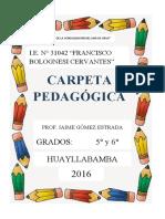 CARPETA PEDAGÒGICA  jaime 2016.docx