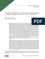Pizzi, Matías. Alcanzar a Dios sin Dios. La relación entre fenomenología y teología en Edmund Husserl y Jean-Luc Marion.pdf