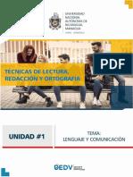 Documento Lenguaje y Comunicación