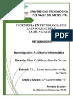 Investigacion Auditoria Informatica.docx