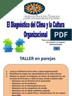 9. EL DIAGNÓSTICO DEL CLIMA Y LA CULTURA ORGANIZACIONAL