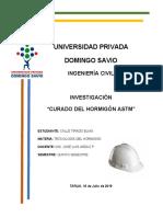 ASTM CURADO DEL HORMIGÓN
