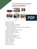 Общее о магазине (отделы магазина, основные понятия)