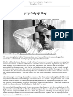 Khagam _ A story by Satyajit Ray – Bengaluru Review