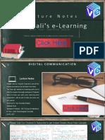 Performance analysis of digital communication