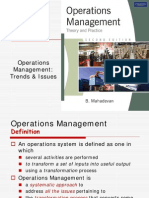 1 Operations management