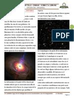 TEORIAS SOBRE EL ORIGEN DEL UNIVERSO 1°