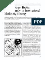 International Marketing Strategy Article