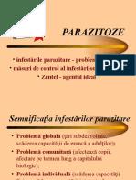 LP6 Infestarile parazitare