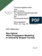 Propagation Model in Tunnels