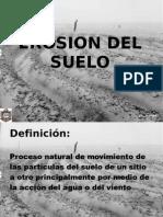Erosion y Recuperacion Del Suelo