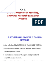 Ch 1. Use of Computers TLRN