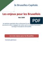 Les enjeux pour les Bruxellois