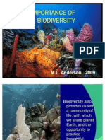 Importance of Biodiversity